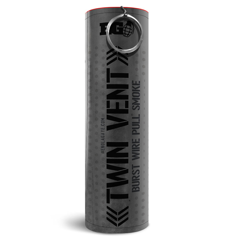 Black Burst Smoke Grenade